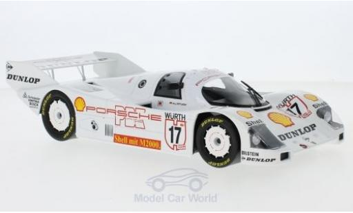 Porsche 962 1987 1/18 Norev C No.17 Supercup Nürburgring 1987 H-J.Stuck miniature