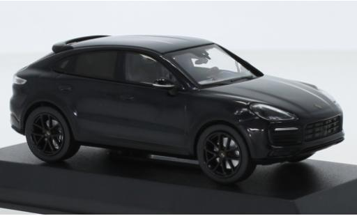 Porsche Cayenne S 1/43 Norev Coupe metallise bleue/carbon 2019 miniature