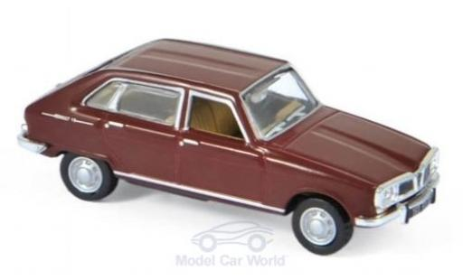 Renault 16 1/87 Norev Super rouge 1966 miniature