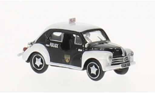 Renault 4 1/87 Norev CV Police 1955 miniature