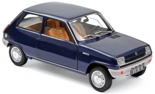 Renault 5 1/18 Norev blue 1973 diecast model cars