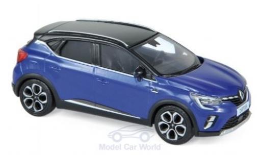 Renault Captur 1/43 Norev metallise blue/black 2020 diecast model cars
