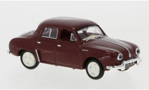 Renault Dauphine 1/87 Norev red 1956 diecast model cars