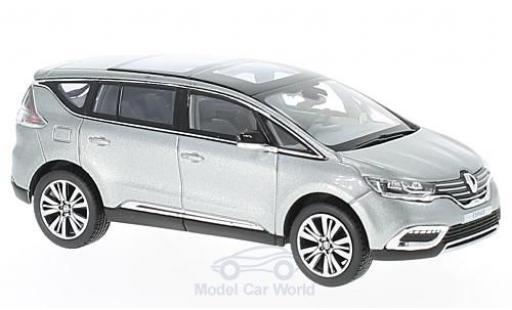 Renault Espace 1/43 Norev metallise grise 2015 Initiale Paris miniature