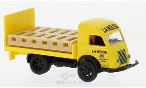 Renault Galion 1/87 Norev Brasseur jaune 1963 mit Ladegut Getränkekisten miniature