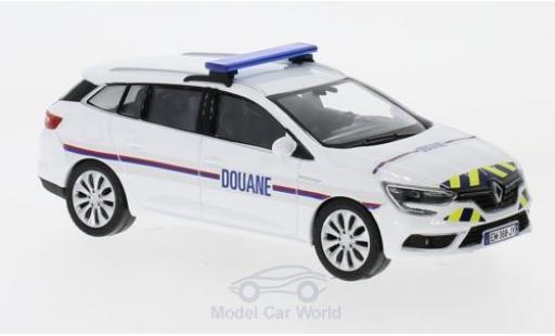 Renault Megane 1/43 Norev Estate Douanes (F) 2016 miniature