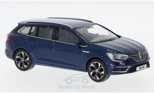 Renault Megane 1/43 Norev Estate metallise blue 2016 diecast model cars