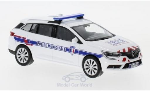 Renault Megane 1/43 Norev Estate Police Municipale (F) 2016 miniature