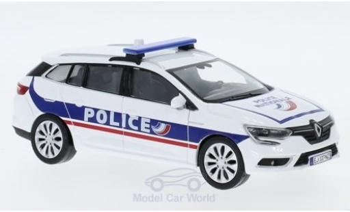 Renault Megane 1/43 Norev Estate Police Nationale (F) 2016 miniature