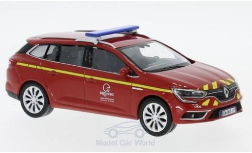 Renault Megane RS 1/43 Norev Estate Pompiers (F) 2016 diecast model cars