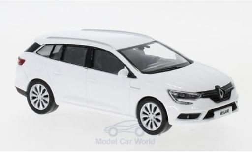 Renault Megane 1/43 Norev Estate blanche 2016 miniature