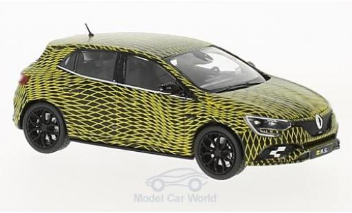 Renault Megane RS 1/43 Norev R.S. 2017 Test Version diecast