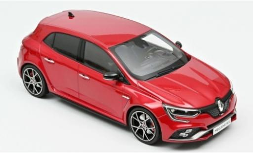 Renault Megane 1/18 Norev R.S. Trophy metallise rouge 2019 miniature