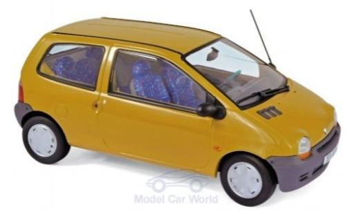 Renault Twingo 1/18 Norev yellow 1993 diecast model cars