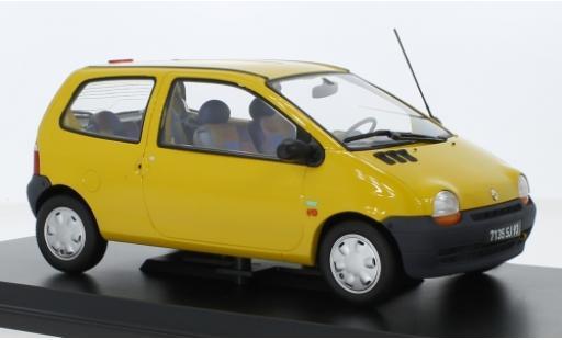 Renault Twingo 1/18 Norev yellow 1996 diecast model cars