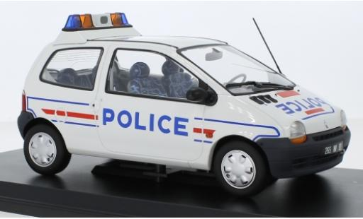 Renault Twingo 1/18 Norev Police (F) 1995 diecast model cars