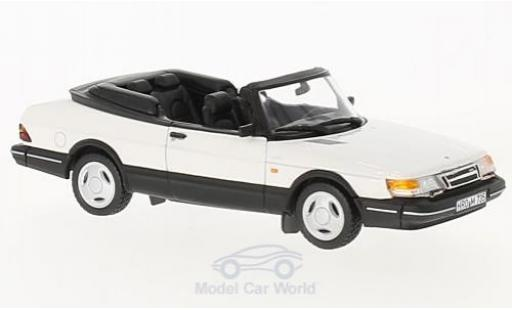 Saab 900 Turbo 1/43 Norev Turbo 16 Cabriolet blanche 1992 miniature