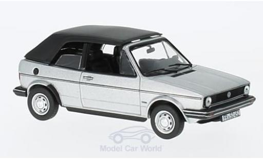 Volkswagen Golf 1/43 Norev Cabriolet grise 1981 miniature