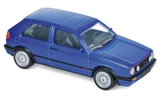 Volkswagen Golf 1/43 Norev II GTI G60 metallise bleue 1990 Jetcar miniature