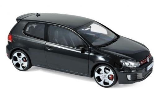 Volkswagen Golf 1/18 Norev VI GTI noire 2009 miniature
