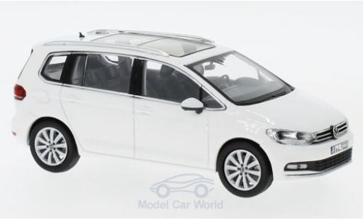 Volkswagen Touran 1/43 Norev white 2015 diecast model cars