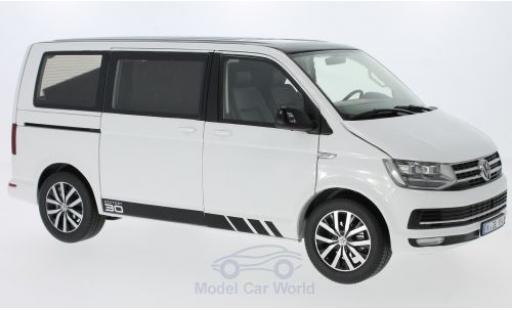 Volkswagen T6 1/18 NZG Multivan blanche/noire 2015 Edition 30 miniature