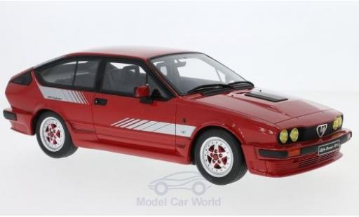 Alfa Romeo GT 1/18 Ottomobile V6 Production red/Dekor 1984 diecast