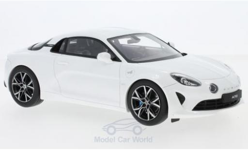 Alpine A110 1/18 Ottomobile Pure metallise white 2018