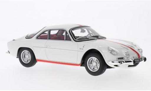 Alpine A110 1/18 Ottomobile Renault 1600 S Olympique white/red 1968 sans Vitrine diecast model cars