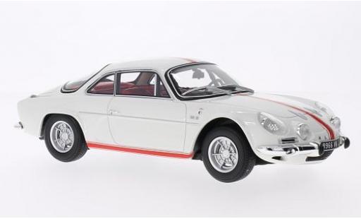 Alpine A110 1/18 Ottomobile Renault 1600 S Olympique white/red 1968 sans Vitrine diecast model cars