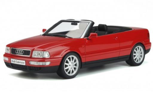 Audi 80 1/18 Ottomobile (B4) Cabriolet 2.8 rouge 2000 miniature