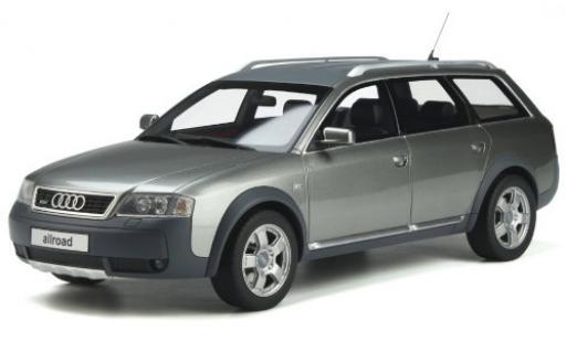 Audi A6 1/18 Ottomobile Allroad quattro metallise grise/matt-grise 2000