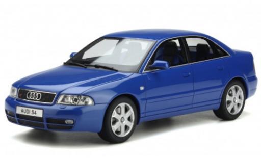 Audi S4 1/18 Ottomobile (B5) 2.7 BiTurbo bleue 1998 miniature
