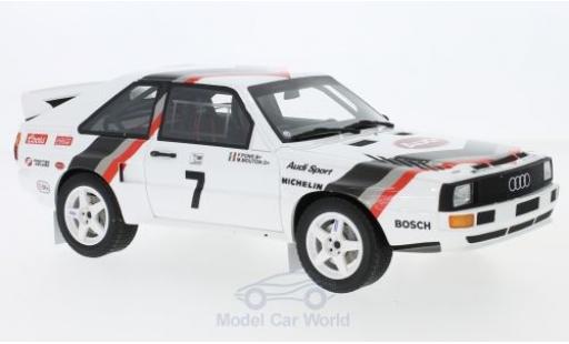 Audi Sport Quattro 1/18 Ottomobile Sport quattro No.7 Pikes Peak 1984 M.Mouton miniature