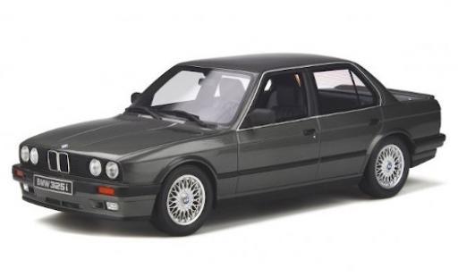 Bmw 325 1/18 Ottomobile i Limousine (E30) metallise grise 1988