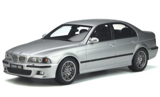 Bmw M5 1/18 Ottomobile (E39) grise 2002 avec grisatre intérieur