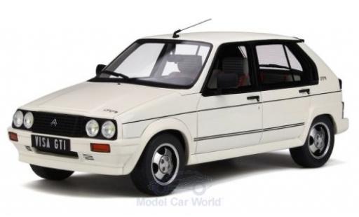 Citroen Visa 1/18 Ottomobile GTI blanche 1984 miniature