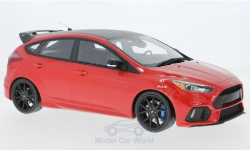 Ford Focus 1/18 Ottomobile MK III RS rouge/noire 2018 miniature