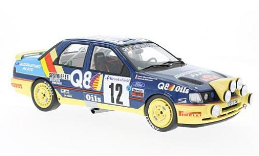 Ford Sierra 1/18 Ottomobile 4x4 No.12 Q8 Rallye WM Rallye Monte Carlo 1991 F.Delecour/A.C.Powels miniature