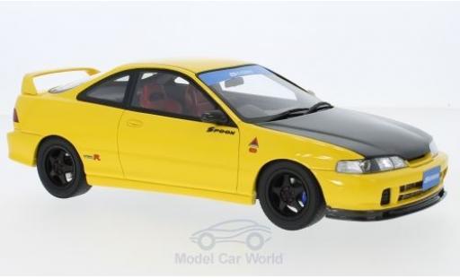 Honda Integra 1/18 Ottomobile (DC2) Spoon jaune/noire RHD 1998 miniature