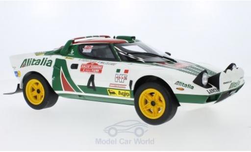 Lancia Stratos 1/12 Ottomobile HF No.4 Alitalia Rallye WM Rally San Remo 1976 B.Waldegard/B.Thorszelius miniature
