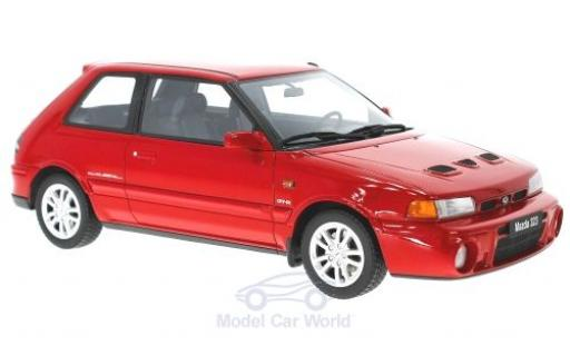 Mazda 323 1/18 Ottomobile GT-R rouge 1992 miniature
