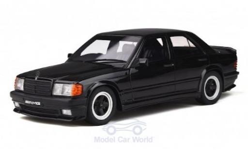 Mercedes 190 1/18 Ottomobile E 2.3 AMG (W201) noire 1984