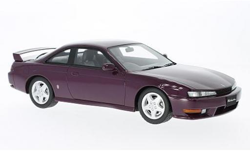 Nissan Silvia 1/18 Ottomobile S14A metallise violette miniature
