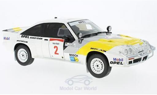 Opel Manta 1/18 Ottomobile 400 Gr. B No.2 Rallye Safari 1985 R.Aaltonen/L.Drews miniature