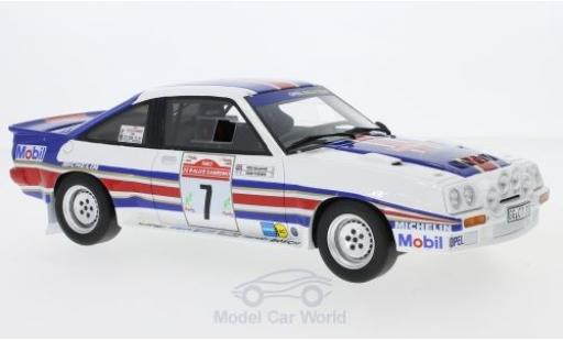 Opel Manta B 1/18 Ottomobile 400R Gr. No.7 Rothmans Rallye WM Rallye San Remo 1983 mit Decals H.Toivonen/F.Gallagher miniature