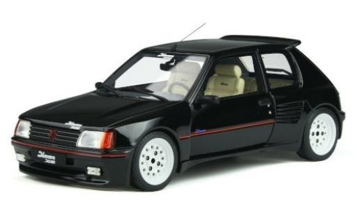 Peugeot 205 1/18 Ottomobile Dimma Design noire/Dekor 1989