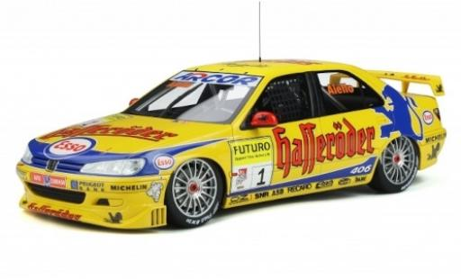 Peugeot 406 1/18 Ottomobile STW No.1 Team Esso Hasseröder Super-Tourenwagen-Cup (STW) 1998 L.Aiello diecast model cars