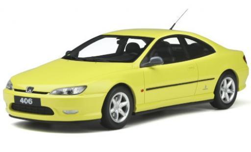Peugeot 406 1/18 Ottomobile V6 Coupe jaune 1997 miniature
