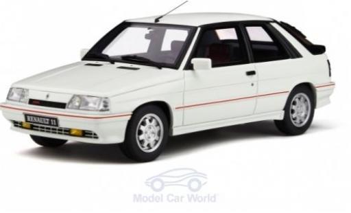 Renault 11 1/18 Ottomobile Turbo (Phase 2) white 1987 diecast model cars